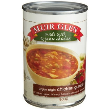 Muir Glen Soup Cajun Style Chicken Gumbo, 14.4-Ounce Cans (Pack of 12)