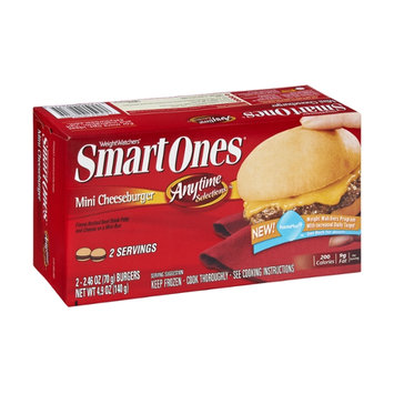 Weight Watchers Smart Ones Anytime Selections Mini Cheeseburger - 2 CT