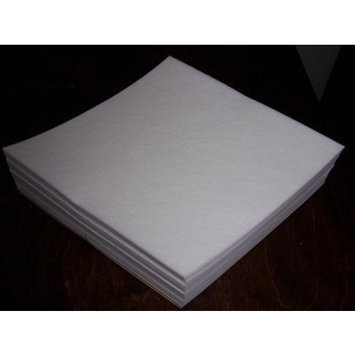 Tear Away - Machine Embroidery Stabilizer Backing 100 Precut Sheets- Medium Weight 1.8oz. - 12