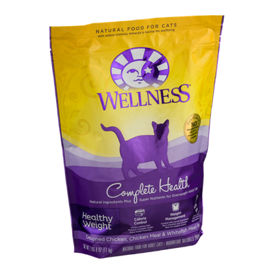 Wellness Complete Health Healthy Weight Natural Food For Adult Cats Deboned Chicken, Chicken Meal & Whitefish Meal Recipe