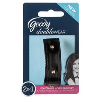 Goody Doublewear Goody Double Wear 2 in 1 Ponytailer and Bracelete Black holder with