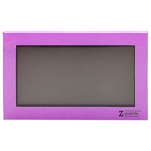 Z Palette Empty Magnetic Customizable Makeup Palette Large, Lavender, 1 ea