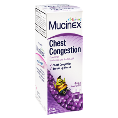 Mucinex Children's Grape Flavor Chest Congestion Liquid