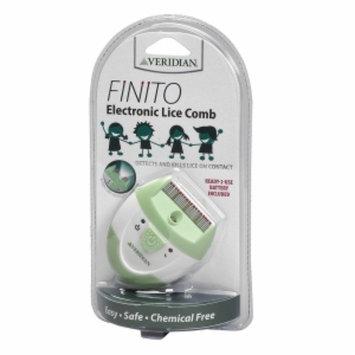 Veridian Healthcare Finito Electric Lice Comb, White, 1 ea