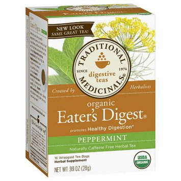 Traditional Medicinals Organic Eater's Digest Naturally Caffeine Free Herbal Tea