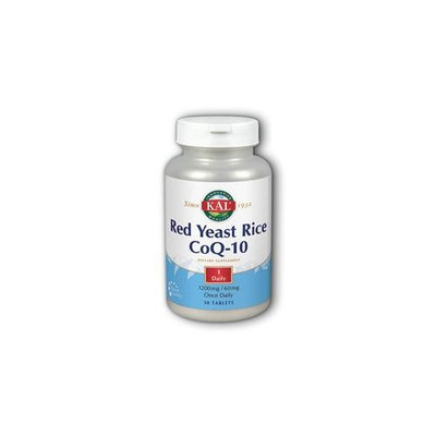 Red Yeast Rice CoQ10 Once Daily Kal 30 Tabs