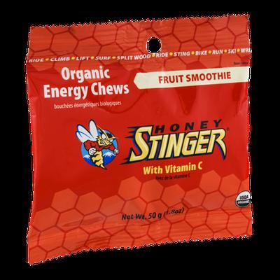 Honey Stinger Organic Energy Chews Fruit Smoothie