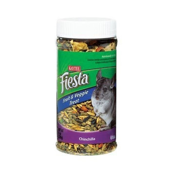 Kaytee Fiesta Fruit and Veggie Treat Jar for Rabbits and Guinea Pigs -- 9 oz