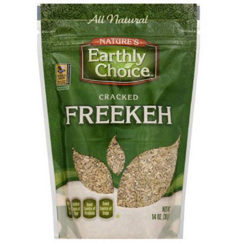 Natures Earthly Choice Nature's Earthly Choice Cracked Freekeh, 14 oz, (Pack of 6)
