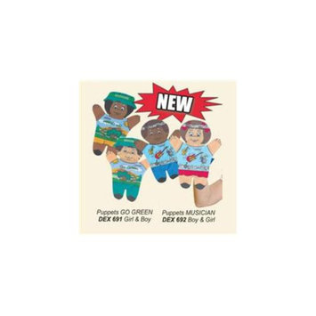 Dexter Educational Toys DEX692 Musician 2 Piece Puppet Set
