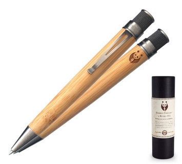 Retro 51 Deluxe Tornado Rollerball Pen Bamboo