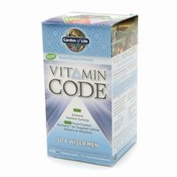 Garden of Life Vitamin Code 50 & Wiser Men's Multi