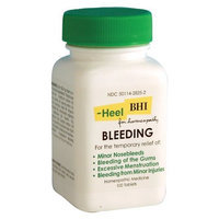 Heel BHI, Bleeding, Homeopathic Medication, 100 Tablets