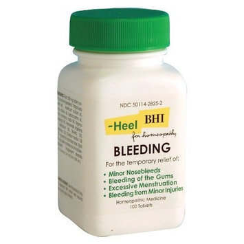 Heel BHI, Bleeding, Homeopathic Medication, 100 Tablets