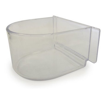 Yml Group Inc YML Group C8054-C Lot of 12 Clear Plastic Cup for Breeding Cages
