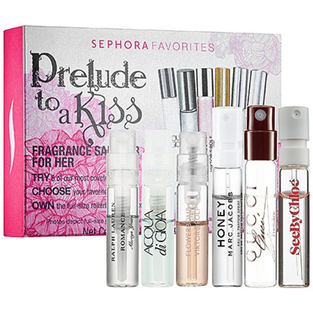 Sephora Favorites Prelude To A Kiss Fragrance Sampler For Her