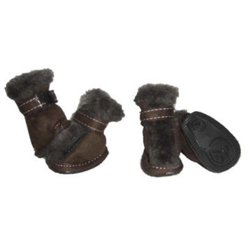 Pet Life 'Snuggly-Fur' Pet Shoes