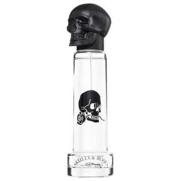 Skulls and Roses Men's Skulls & Roses by Ed Hardy Eau de Toilette - 1 oz