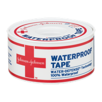 Johnson & Johnson Heavy Duty Waterproof Tape 1 Inch