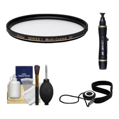 Vivitar Series 1 82mm Multi-Coated Ultraviolet UV Glass Filter with + LensPen + CapKeeper + Lens Cleaning Kit for Canon, Nikon, Sony, Olympus & Pentax Lenses