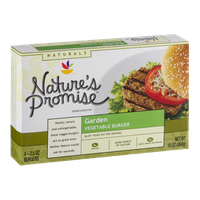 Nature's Promise Garden Vegetable Burger - 4 CT