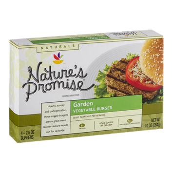 Nature's Promise Garden Vegetable Burger - 4 CT