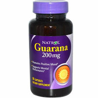 Natrol Guarana 200 mg 90 Capsules