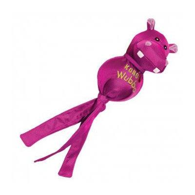 Kong Wubba Hippo Dog Toy