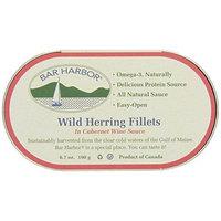 Bar Harbor Wild Herring Fillets, Cabernet Wine Sauce, 6.7 Ounce (Pack of 12)