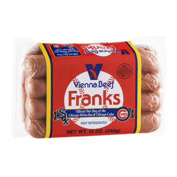 Vienna Beef Franks - 8 CT