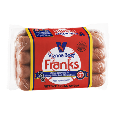 Vienna Beef Franks - 8 CT