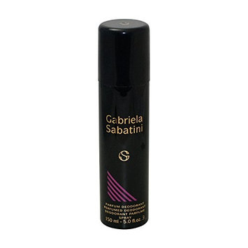 Gabriela Sabatini Perfumed Deodorant Spray 5.0 Oz / 150 Ml