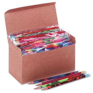 Moon Products Woodcase Pencil, Treasure Assortment, HB #2, 144/Box