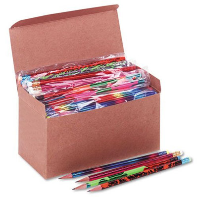 Moon Products Woodcase Pencil, Treasure Assortment, HB #2, 144/Box