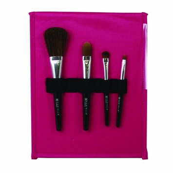 Danielle Creations Danielle Magenta Makeup Brush Set, 0.06-Pound