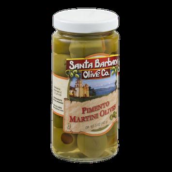 Santa Barbara Olive Co. Pimento Martini Olives