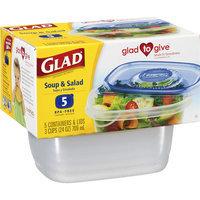 Glad ware Soup & Salad