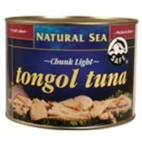 Natural Sea Chunk Light Tongol Tuna, No Salt Added, 66.5 Ounce