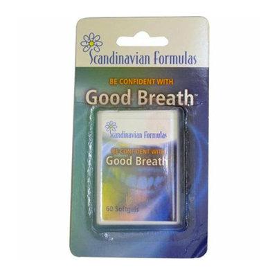 Scandinavian Formulas Good Breath 60 Softgels