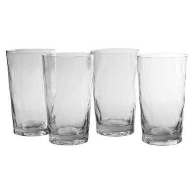 Artland Ripple Highball Glass Set of 4 - Clear (20 oz)