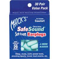 Mack's Safesound Original Soft Foam Earplugs