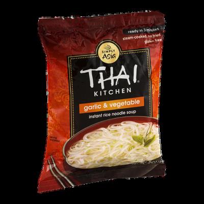 Thai Kitchen Instant Rice Noodle Soup Garlic & Vegetable