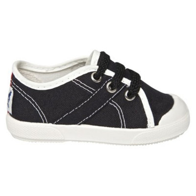 Toddler Boy's United Shoes of America Timmy Sneakers - Jet Black 5