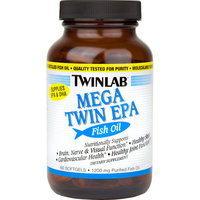 Twinlab Mega Twin EPA Fish Oil Softgels