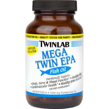 Twinlab Mega Twin EPA Fish Oil Softgels