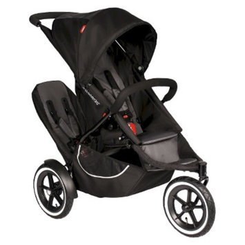 phil & teds Classic Stroller with Second Seat - Black