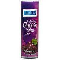 Relion: Grape Glucose Tablets