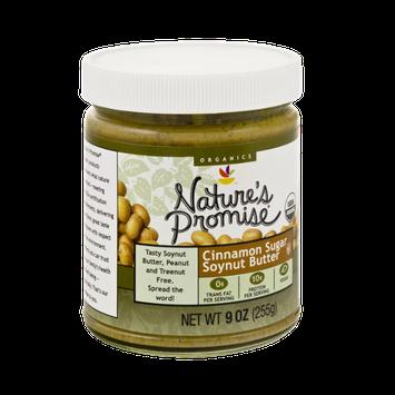 Nature's Promise Organics Cinnamon Sugar Soynut Butter