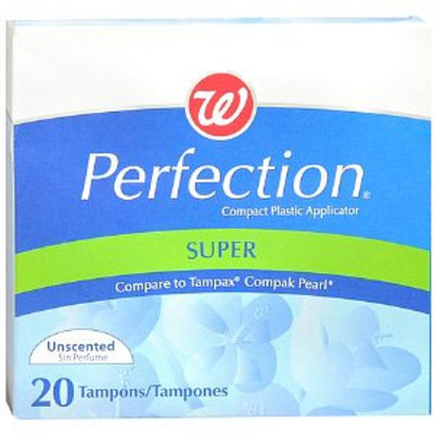 Walgreens Perfection Plastic Tampons