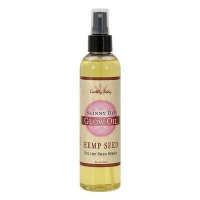 Earthly Body Glow massage oil - 8 oz skinny dip (Package Of 2)